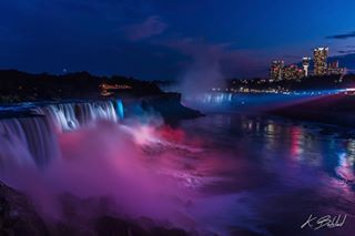 Today is #WorldPhotoDay, an international photography event that celebrates the passion for photography in our communities. It is about inspiring thousands of photographers across the planet to share a single photo with a simple purpose: to share their world with the world. ===== I took this photo of Niagara Falls on a muggy evening in August 2011. All lit up in a patriotic red, white, and blue, the falls looked absolutely magical that night. I was just learning about f-stops, exposures, focal lengths, histograms, etc., and distinctly remember this photo as my very first photo where everything finally came together. ===== For me, sharing my photography is a way to let others explore the world through my eyes. I hope people enjoy looking at my photos as much as I enjoy taking them! ===== Sony SLT-A55V | Tamron 18-270mm F3.5-6.3 Di II PZD | ISO 100 | 18mm | f/3.5 | 2.5 sec